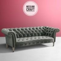 Kursi tamu sofa minimalis modern scandinavian model mebel Jepara