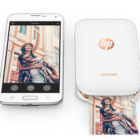 Printer Foto Portable HP Sprocket 100 Photo Printer - Bluetooth Print