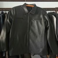 Jaket pria asli kulit khusus ukuran S sampai L