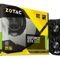 Vga Zotac geforce gtx 1050 2GB OC DDR 5 128bit Dual fan Murah
