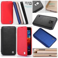 Samsung Galaxy S5 I9600 - Nillkin Rain Series Leather C Berkualitas