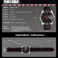 SKMEI Watch 9106 Original Water Resistant 50M - Black Orange