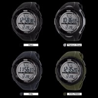 SKMEI Sport Watch 1025 Original Water Resistant 50M - Black