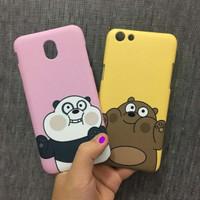 Custom Case HP Asus Zenfone Live L1 (ZA550KL) Bear Panda Fullprint 3D