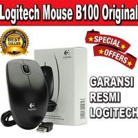 Mouse Logitech B100 100% Original GARANSI RESMI