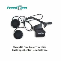 Clamp Kit Maunting Bluetooth Helm FreedConn Trex For Helm Full Face