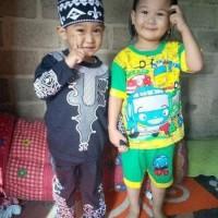 Setelan Baju Anak Tayo Little Bus Murah Keren Pakaian Bayi Baby Maruno