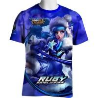 Ruby Skin eidelweis Mobile Legends T-shirt