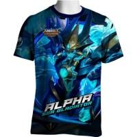 Alpha Skin Sea Gladiator Mobile Legends T-shirt