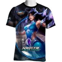 Kadita Skin Atlantean Princess Mobile Legends T-shirt