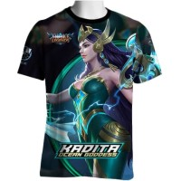 Kadita Skin Ocean Goddess Mobile Legends T-shirt