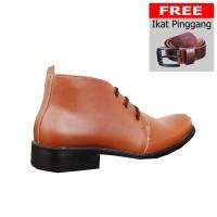 ORIGINAL Sepatu S van Decka ITK014T FREE Ikat Pinggang