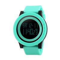 Jam Tangan Wanita Digital Skmei 1193 Light Green Water Resistant 30m
