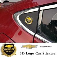 Harga stiker 3d logo chevrolet vip motors wheat car logo car emblem | Pembandingharga.com