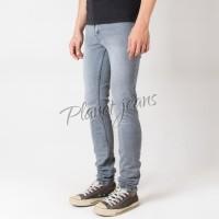 Harga celana jeans skinny panjang vintage blue washed denim skiny cowok | Pembandingharga.com