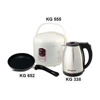 Kangaroo Paket Sehat Rice Cooker-Frypan-Water Kettle Anti PFOA Hemat