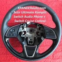 Steering wheel Xpander ultime sport black piano setir stir sama switch