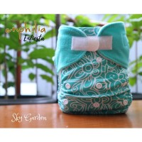 Enfiesta Pocket Diaper Set - Sky Garden