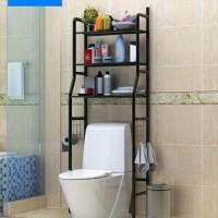 Rak Toilet Organizer WC Kloset tissue serbaguna sabun soap rack Baju