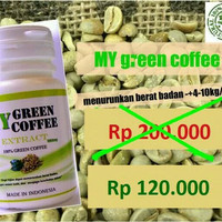 GREEN COFFEE SLIM PELANGSING ALAMI!!