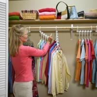 Wonder Hanger isi 8 Set Gantungan Baju Ajaib Pakaian Celana Organizer