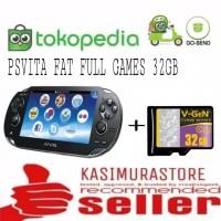 PS VITA FAT HENKAKU PSVITA FAT CFW PAKET MEMORY 32GB FULL GAME