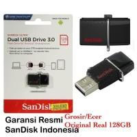 SANDISK FLASHDISK OTG 128GB USB 3.0 / OTG MICRO SANDISK 128 GB