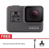 GoPro Hero5 / GoPro Hero 5 Black + Tongsis Attanta 08-A Spin