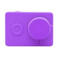 Xiaomi Yi Silicone Case and Lens Cap - Ungu