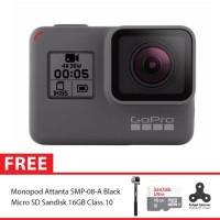 GoPro Hero5 / GoPro Hero 5 Black Combo Attanta Supreme 16GB Spin