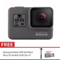 GoPro Hero5 / GoPro Hro 5 Black Combo Attanta Supreme 32GB