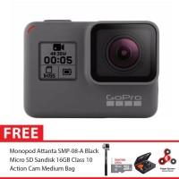 GoPro Hero5 / GoPro Hero 5 Black Combo Attanta Deluxe 16GB SpinIndo