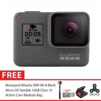 GoPro Hero5 / GoPro Hero 5 Black Combo Attanta Deluxe 16GB Spin