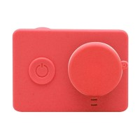 Xiaomi Yi Silicone Case and Lens Cap - Merah
