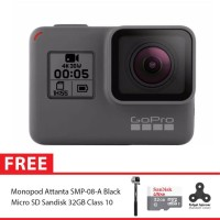GoPro Hero5 / GoPro Hero 5 Black Combo Attanta Supreme 32GB Spin