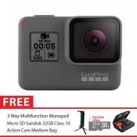 GoPro Hero5 / GoPro Hero 5 Black Combo 3 Way Deluxe 32GB