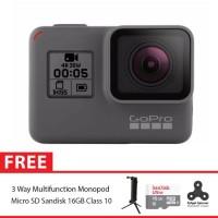 GoPro Hero5 / GoPro Hero 5 Black Combo 3 Way Supreme 16GB Spin