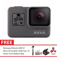 GoPro Hero5 / GoPro Hero 5 Black Combo Deluxe 16GB SpinIndo