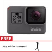 GoPro Hero5 / GoPro Hero 5 Black + 3 Way Monopod