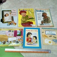Buku, Majalah Mini Babyplus, The Baby book, dll (all)