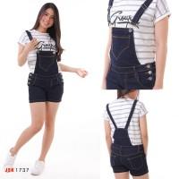 (SIZE 27-34) -Celana Jeans Kodok Pendek Wanita BIGSIZE