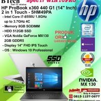 HP ProBook x360 440 G1 - 5HM49PA Core i7-8550U/8GB/512GB/VGA/W10