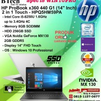 HP ProBook x360 440 G1 - HPQ5HM59PA Core i5-8250U/8GB/256GB/VGA/W10