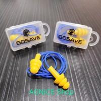 Earplug Ultrafit Corded dengan Kotak Penutup Safety Telinga Ear Plug