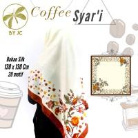 Jilbab Segiempat Coffee Syari D18 by JC