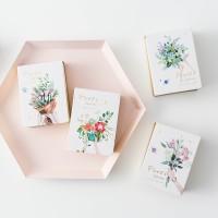 Pop Sale! Floras Garden Mini Plain Memopad [Buku Tulis]