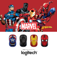 Logitech M238 Marvel Collection Wireless Mouse - Black Panther