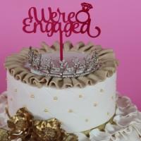 Hiasan kue / topper cake acrylic / topper cake / cake topper