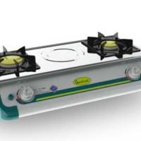 Quantum Kompor Gas 2 Tungku QGC211MES