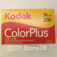 Roll film Kodak colorplus 200/36